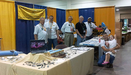 Orlando Chapter booth.